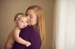 Chloe and mom